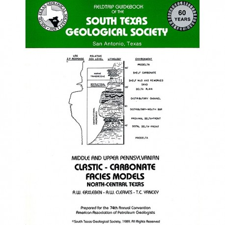STGS211G. Middle and Upper Pennsylvanian Clastic-Carbonate Facies Models: North-Central Texas