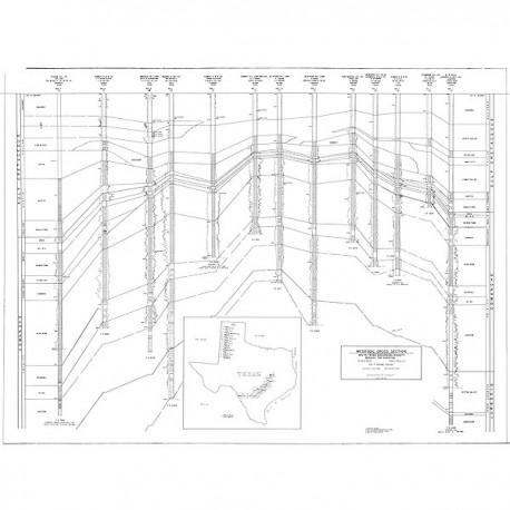 STGS251CS. Mesozoic Cross Section, Maverick County to Robertson County
