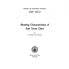 GC6501. Bloating Characteristics of East Texas Clays