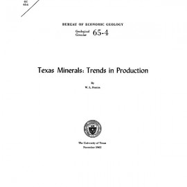 GC6504. Texas Minerals: Trends in Production
