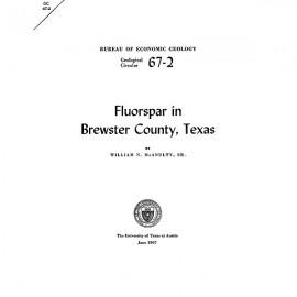 GC6702. Fluorspar in Brewster County, Texas