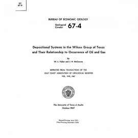 GC6704. Depositional Systems in the Wilcox Group of Texas and Their Relationship to Occurrence of Oil and Gas