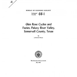 GC6801. Glen Rose Cycles and Facies, Paluxy River Valley, Somervell County, Texas