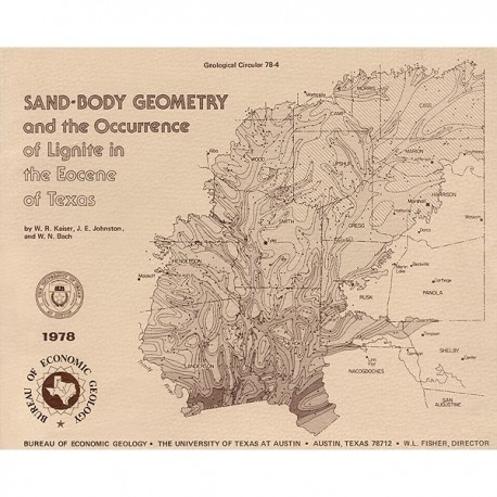 GC7804. Sand-Body Geometry and the Occurrence of Lignite in the Eocene of Texas