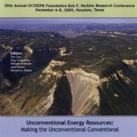 GCS029. Unconventional Energy Resources: Making the Unconventional Conventional.