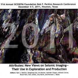 GCS031. Attributes: New Views on Seismic