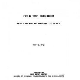GCS 207. Middle Eocene of Houston Co., Texas