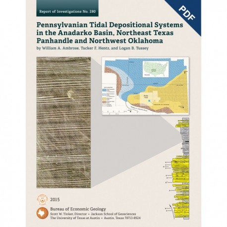 RI0280D. Pennsylvanian Tidal Depositional Systems in the Anadarko Basin, Northeast Texas Panhandle and Northwest Oklahoma
