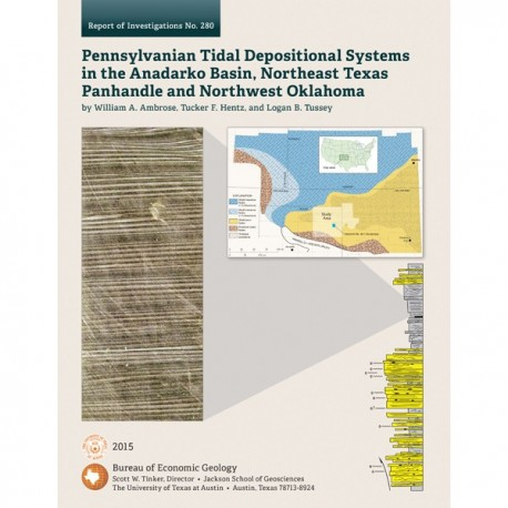 RI0280. Pennsylvanian Tidal Depositional Systems in the Anadarko Basin, Northeast Texas Panhandle and Northwest Oklahoma