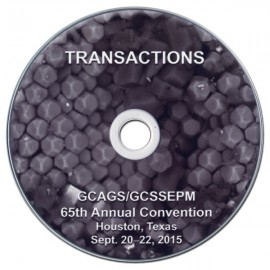 GCAGS 065CD. GCAGS Transactions, Volume 65 (2015) Houston - CD-ROM