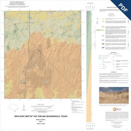 OFM0208D. Thelma quadrangle, Texas - Downloadable PDF