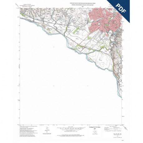 OFM0003D. Del Rio SW quadrangle, Texas  - Downloadable PDF