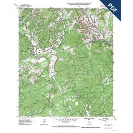 OFM0007D. Timber Creek quadrangle, Texas  - Downloadable PDF