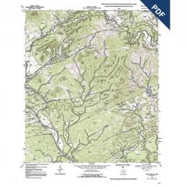 OFM0008D. Twin Hollow quadrangle, Texas - Downloadable PDF