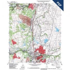 OFM0013D. Round Rock quadrangle, Texas - Downloadable PDF
