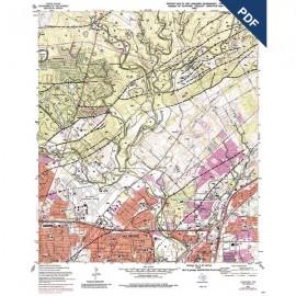 OFM0016D. Longhorn quadrangle, Texas  - Downloadable PDF