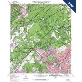 OFM0017D. Castle Hills quadrangle, Texas - Downloadable PDF