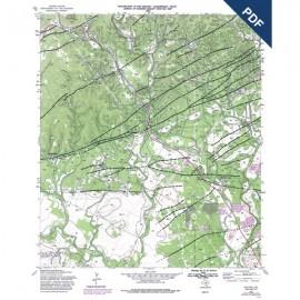 OFM0018D. Helotes quadrangle, Texas  - Downloadable PDF