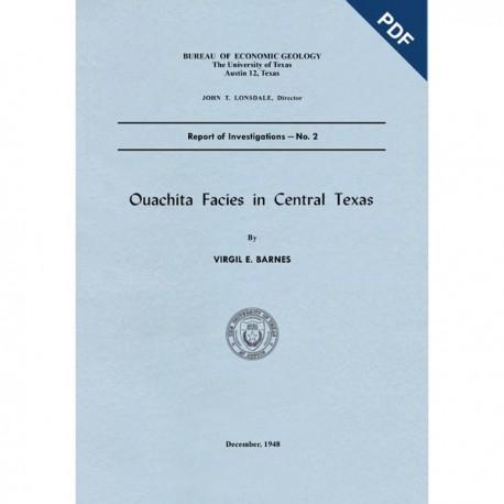 RI0002D. Ouachita Facies in Central Texas