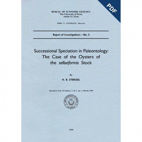 RI0003D. Successful Speciation in Paleontology: The Case of the Oysters of the Sellaeformis Stock