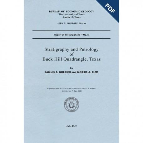 RI0006D. Stratigraphy and Petrology of Buck Hill Quadrangle, Texas