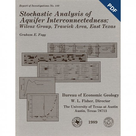 Stochastic analysis of aquifer interconnectedness : Wilcox Group, Trawick Area, East Texas