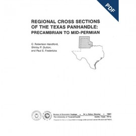 CS0001D. Regional Cross Sections of the Texas Panhandle: Precambrian to Mid-Permian - Downloadable