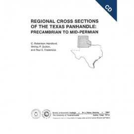 CS0001CD. Regional Cross Sections of the Texas Panhandle: Precambrian to Mid-Permian-CD