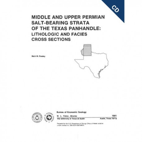 CS0003CD. Middle and Upper Permian Salt-Bearing Strata of the Texas Panhandle ...Cross Sections - CD