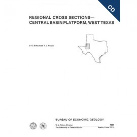 CS0006CD. Regional Cross Sections: Central Basin Platform, West Texas - CD - ROM