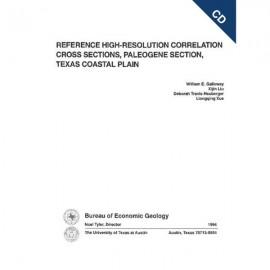 CS0010CD. Reference High-Resolution Correlation Cross Sections, Paleogene..., Texas Coast - CDal Plain