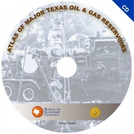 AT0024. Atlas of Major Texas Oil and Gas Reservoirs (CD)