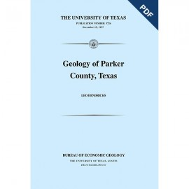 PB5724D. Geology of Parker County, Texas