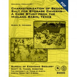 GC0001D. Characterization of Bedded Salt for Storage Caverns - A Case Study from the Midland Basin, Texas - Downloadable PDF