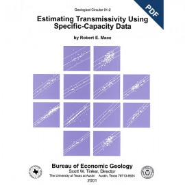 GC0102D. Estimating Transmissivity Using Specific-Capacity Data - Downloadable PDF