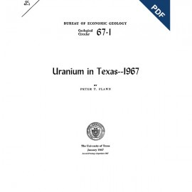 GC6701D. Uranium in Texas: 1967  - Downloadable PDF