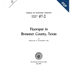 GC6702D. Fluorspar in Brewster County, Texas  - Downloadable PDF