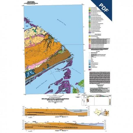 OFM0224D. Port O'Connor quadrangle, Texas  - Downloadable PDF