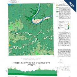 OFM0226D. Bee Cave quadrangle, Texas - Downloadable PDF
