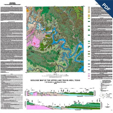 Mm0052d geologic map of the upper lake travis area texas geologic map of the upper lake travis area texas downloadable pdf gumiabroncs Image collections