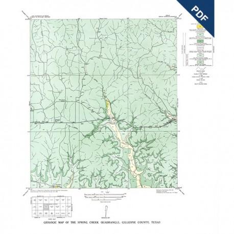 GQ0006D. Spring Creek quadrangle, Texas