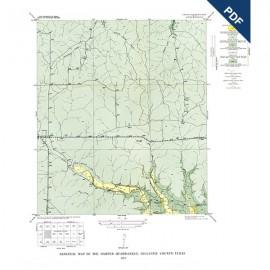 GQ0016D. Harper quadrangle, Texas