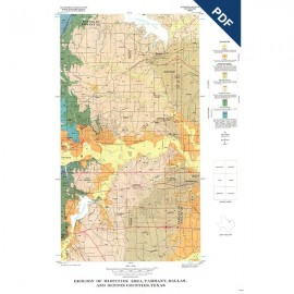 GQ0042D. Geology of Midcities area, Tarrant, Dallas, and Denton Counties, Texas