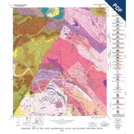 GQ0043D. Geology of the Click quadrangle, Llano and Blanco Counties, Texas