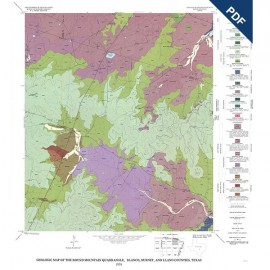 GQ0047D. Geology of the Round Mountain quadrangle, Blanco, Burnet, and Llano Counties, Texas