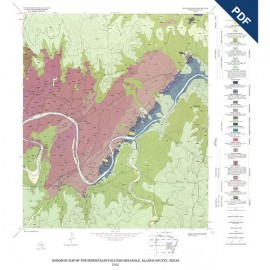 GQ0049D. Geology of the Pedernales Falls quadrangle, Blanco County, Texas