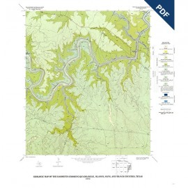 GQ0051D. Geology of the Hammetts Crossing quadrangle, Blanco, Hays, and Travis Counties, Texas