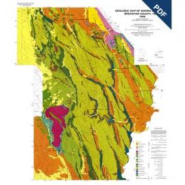 GQ0054D. Structural geology of the Sierra del Carmen, Trans-Pecos Texas
