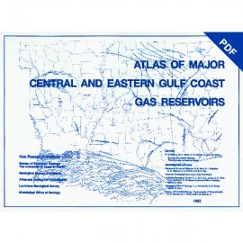 AT0005D. Atlas of Major Central and Eastern Gulf Coast Gas Reservoirs - Downloadable PDF