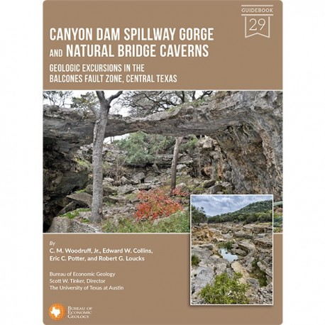 GB0029. Canyon Dam Spillway Gorge and Natural Bridge Caverns...Central Texas